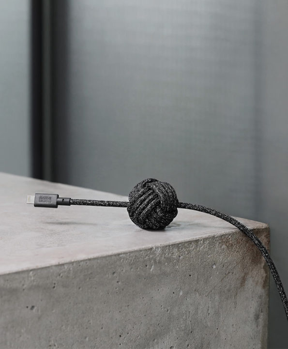 Native Union - Night cable dark grey - at RAUM concept store