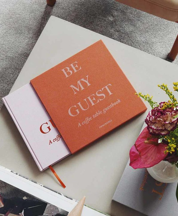 Be My Guest - A Coffee Table Guestbook @ RAUM concept store
