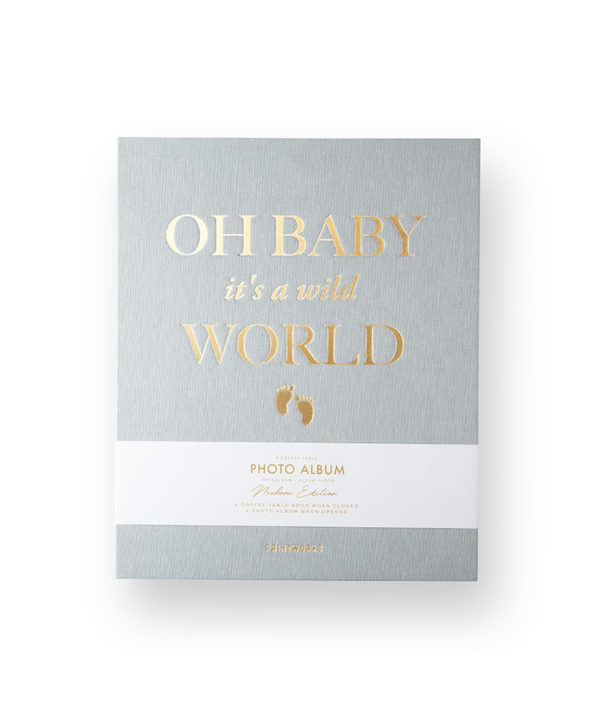 Oh baby it's a wild world - Coffee Table Photo Album @ RAUM concept store