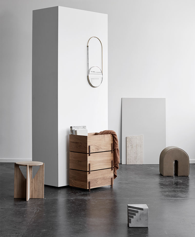Kristina Dam STACK Stapelbare Holzbox at RAUM concept store